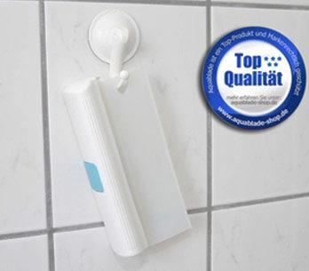Aquablade badkamerwisser incl. zuignap - Aquablade